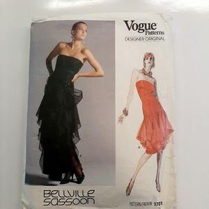 VTG VOGUE DRESS PATTERN # 1701